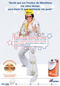 Cartel Cemex Elvis