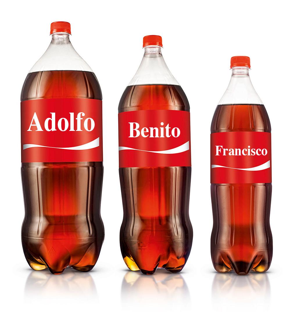 Coca Cola y los nombres envenenados