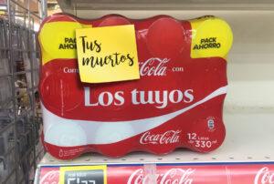 coca-cola y tus muertos